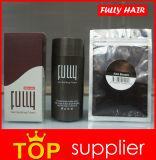 黒い十分にブラウンの毛の建物のファイバーの第2世代別ケラチンの毛の厚化の粉