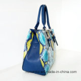 PU Croco方法女性ハンドバッグの女性の革製バッグ(LY060265)