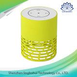 Haut-parleur portatif d'éclairage LED avec le bouton de contact