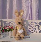 Длинняя игрушка плюша кролика ушей с мешком