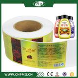 Étiquette transparente faite sur commande de collant pour l'empaquetage