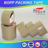 De lichtbruine Verzegelende Band van het Karton van de Kleur BOPP van Chinese Fabriek