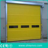 PVCファブリックフリーザー部屋のための高速ガレージのドア