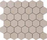 Mosaico de piedra natural/mosaico de mármol del azulejo de mosaico/de mármol para la piedra de pavimentación/la yarda/pared del jardín
