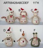 Casas mascotas manopla ornamento, 6asst