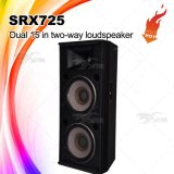 Srx725 удваивают шкаф диктора системы PA 15 дюймов