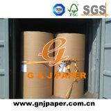 650 mm de madera blanca del papel libre en forma de rollo para la impresión
