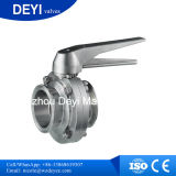 304 / 316L Sanitair RVS Vlinderklep (DYT-01)