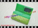 Бумажник цвета спички способа PU с шарниром длинним