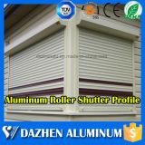 África Etiopía la mejor calidad 6063 T5 de aluminio Perfil de ventana del rodillo de puerta de persiana