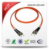 Желтые кабели заплаты волокна LC/APC - Sc/APC - Sm - оболочка Sx-3.0mm-5mtrs-Ofnp