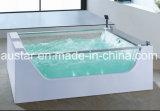 1800mm Rechthoek Vrije Permanente Massage Bathtub SPA met het Glas van Beide Kanten voor 2 Mensen (bij-0718)