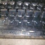 След Yanmar Vio30-6 резиновый для машинного оборудования землечерпалки (300-55YM-84)