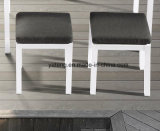 新しいデザイン屋外のテラスの家具のアルミニウムソファーの一定の海側面のソファーセット
