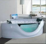Jacuzzi de canto de 1630mm com Ce e RoHS (AT-9053TV)