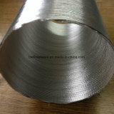 Isolamento térmico de fibra de vidro de alumínio Kraft Paper Dutos acústicos