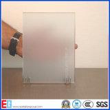 O vidro da geada, ácido gravou o vidro, o vidro ácido, o vidro gravado, vidro obscuro