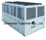refrigerador de refrigeração ar do parafuso 120ton/320kw com o compressor do parafuso de Bitzer