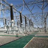 Torre del tubo de acero de la galvanización de la INMERSIÓN caliente