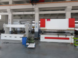 250t 4000mm Machine de cintrage CNC à plaque hydraulique Servo Sheet Metal