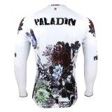 Нежно куртка спортов Paladin покрывает втулка Breathable быстро сухой задействуя Джерси людей длинняя