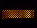 Jaune simple de couleur de l'Afficheur LED P10 de module d'IMMERSION extérieure d'écran