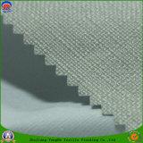 Tela tejida apagón impermeable revestido casero de la cortina del poliester del PVC franco de la materia textil