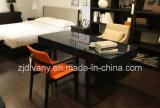 Poltrona de madeira do couro americano da sala de jantar da mobília da HOME do estilo (C-49)