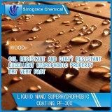 Растворитель основал покрытие Superhydrophobic для тканья