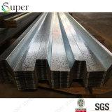 Strato d'acciaio ondulato di Decking galvanizzato Decking della lamiera di acciaio del pavimento