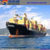 Frete de mar de China a Austrália ou a Nova Zelândia
