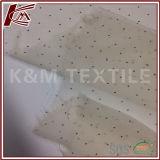 Меньшяя ткань Ggt Georgette Crinkle шелка печати 100% точечного растра