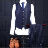 O estilo um da forma abotoa o terno de negócio formal para homens