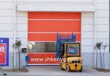 Porte rapide rapide à grande vitesse d'obturateur de rouleau de tissu de PVC d'acier inoxydable