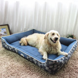 Кровать любимчика джинсыов высокого качества для собак