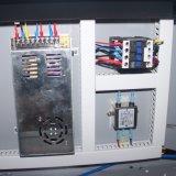 Colocando la maquinaria del laser para el grabado de madera (JM-1680H-CCD)