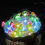 33のFT Halloweenの幻影の暖かく白い星明かりのライト豆電球銅LEDはストリングをつける