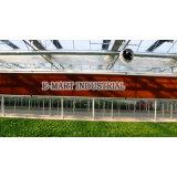 Pista de enfriamiento del marco de aluminio para el invernadero