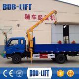 Grúa hidráulica del cargamento del camión del carro del auge