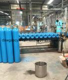 N2 vazio, AR, cilindros de gás do CO2 com capacidade 50L da água