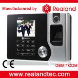Realand biométrico de impressão digital e Time Card sistema de atendimento com Software Livre