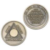 승진 아연 합금은 주물 도전 동전을 정지한다