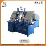 Горизонтальная модель Ghs4228 ленточнопильного станка колонки двойника машинного оборудования Sawing с стандартом Ce