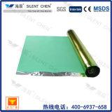 Underlayment adhesivo reciclado de la espuma de EVA para el suelo laminado y otros suelos de flotación