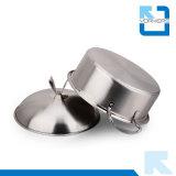 POT delle azione del POT della minestra dell'acciaio inossidabile di 24cm