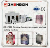 Saco laminado caixa não tecido da tela que faz a máquina (Zx-Lt400)