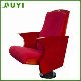 Jy-905講堂教会木のシート折るファブリック劇場の椅子