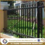 Alguma cerca de aço galvanizada cor do jardim do ferro