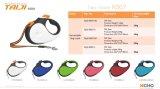 La meilleure corde 10.5FT tressée escamotable de vente de la laisse 3m d'accessoires de /Pet de produits de crabot escamotable