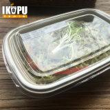 Wegwerffreier raum nehmen Plastiksalat-Filterglocke mit Kappe weg